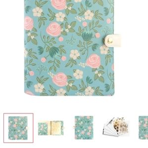 NEW Michaels floral day planner